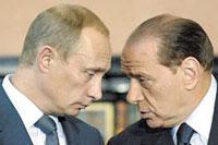 Berlusconi VS. Putin